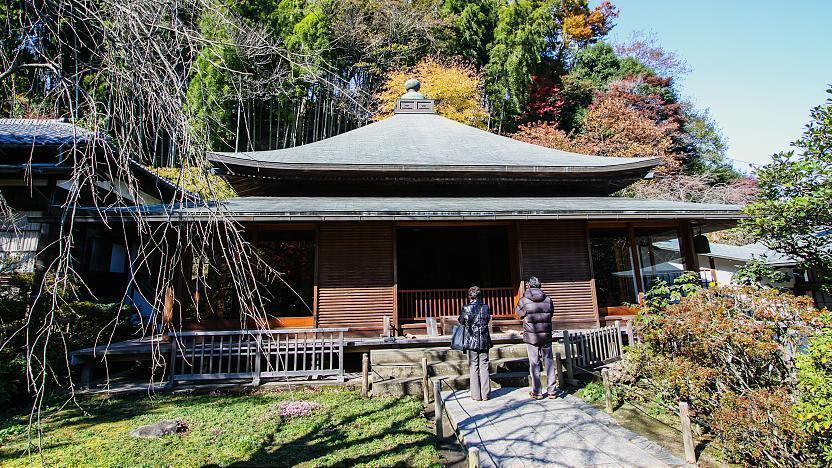 Pray at the Famous Tokeiji Temple