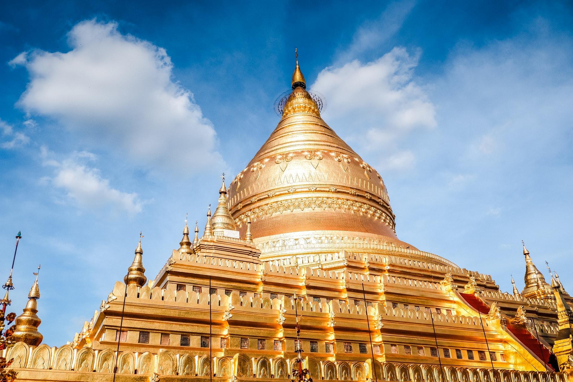 Visit the Shwezigon Pagoda