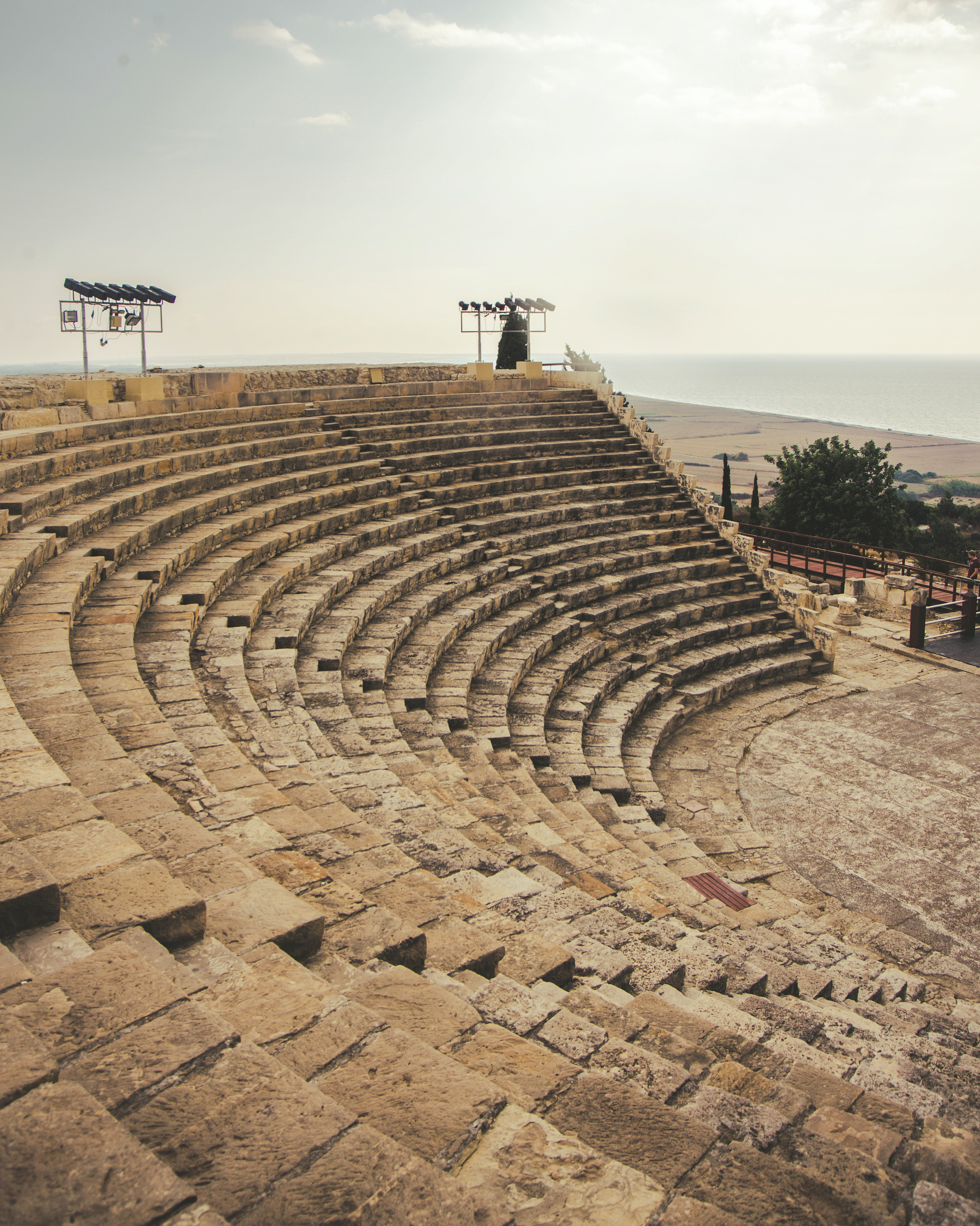 Tour the Kourion archaeological site