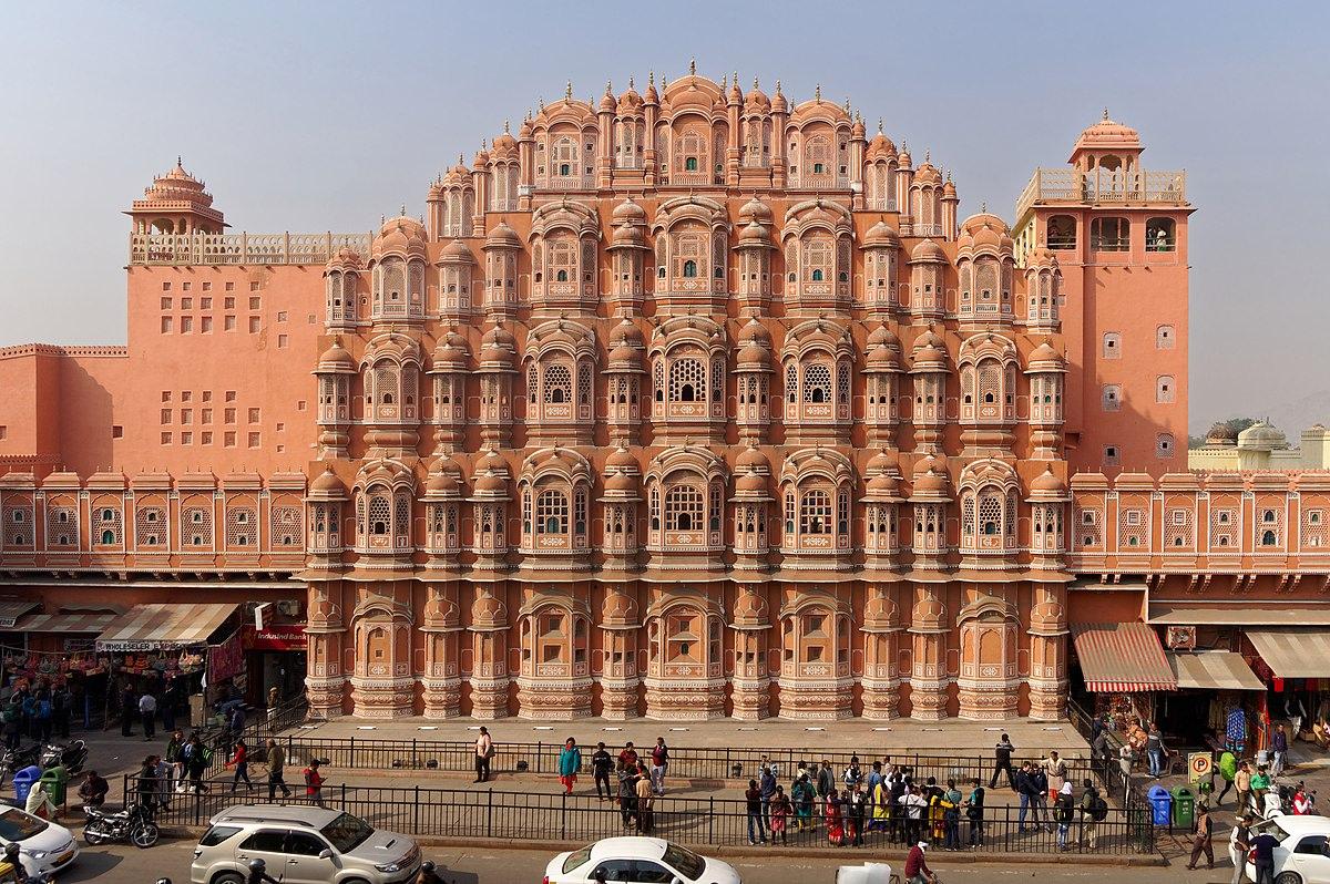 See Hawa Mahal in Jaipur, India