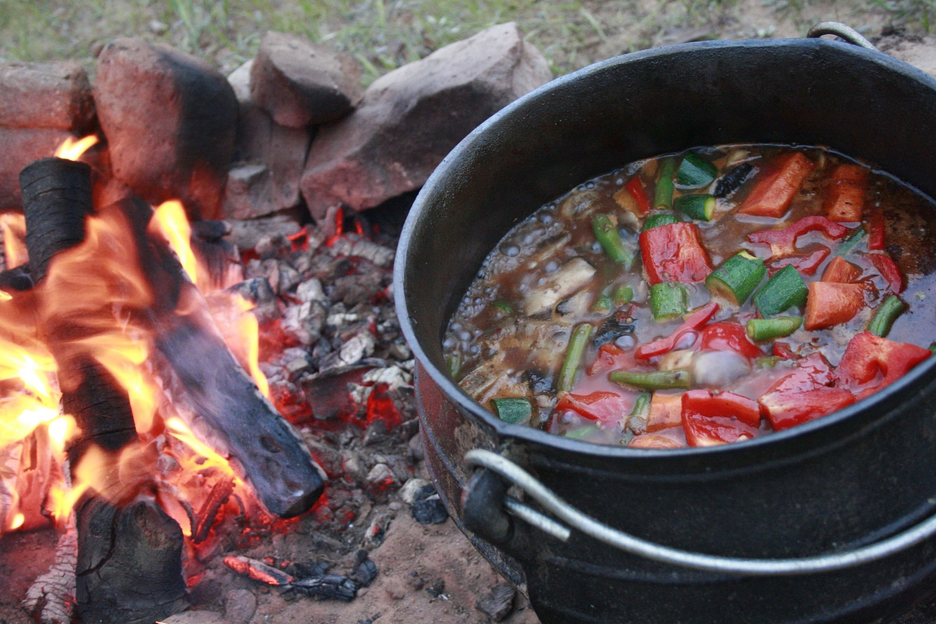 Relish traditional food of South Africa