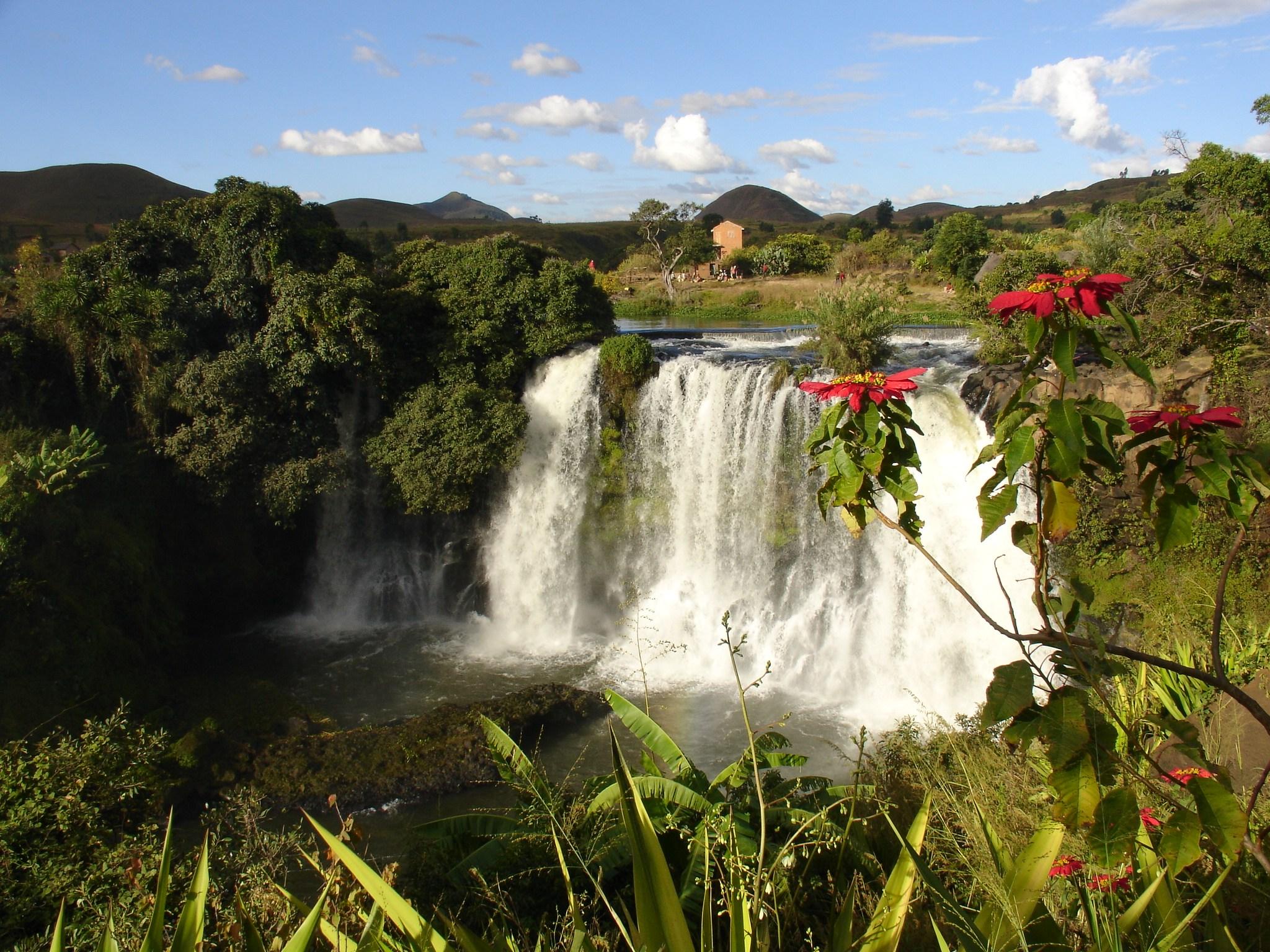 Chute de la Lilly, Madagascar