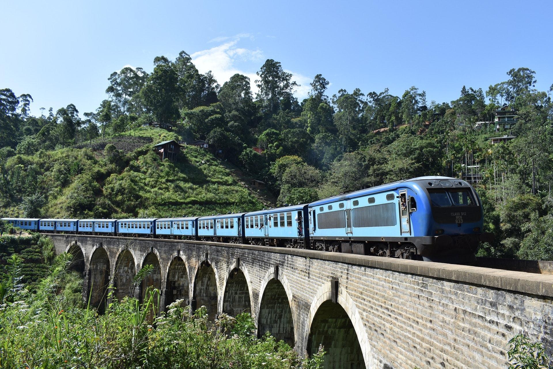 Catch a train ride in Ella