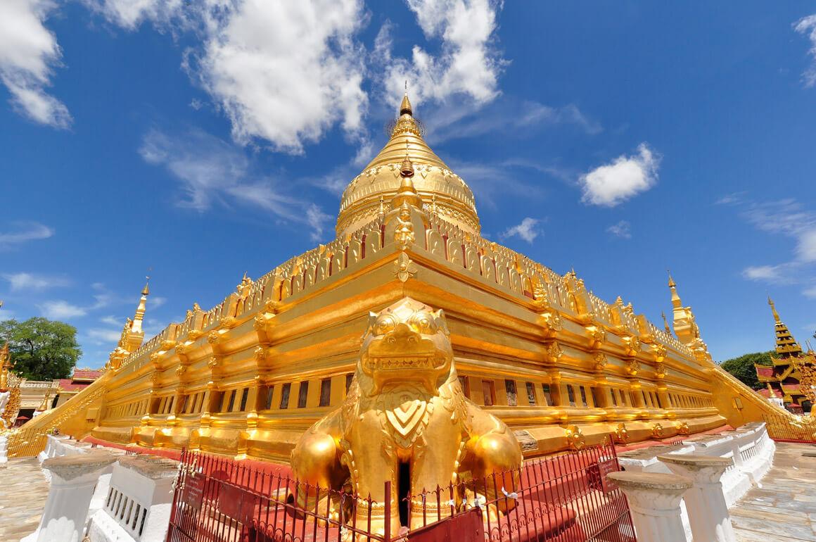 Shwe Zi Gone Pagoda, Mandalay