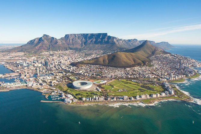 Admire the view of Cape Town, South Africa