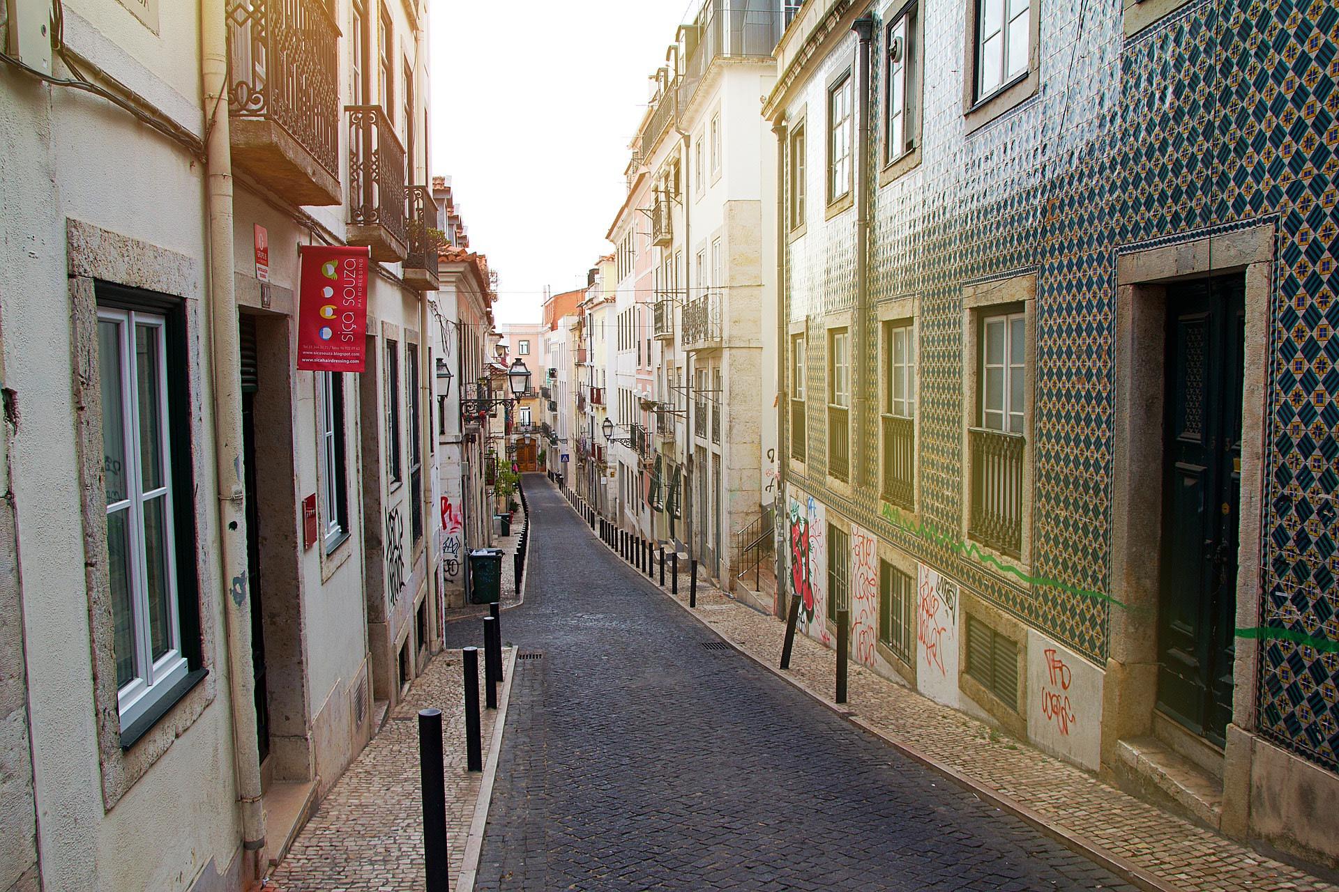 Streets of Barrio Alto