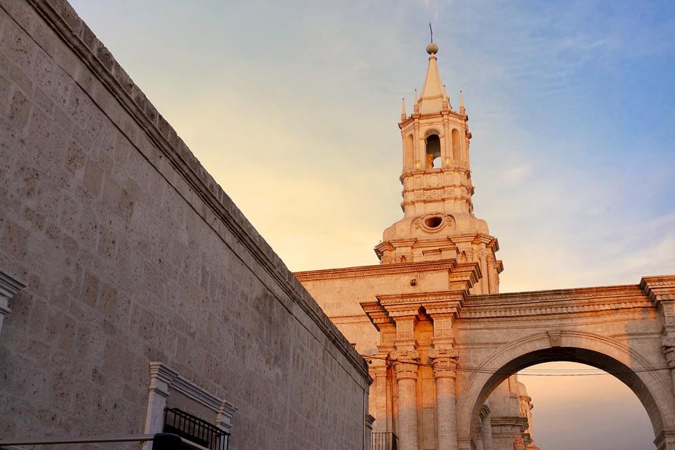 Arequipa Cathedral, Arequipa, Peru