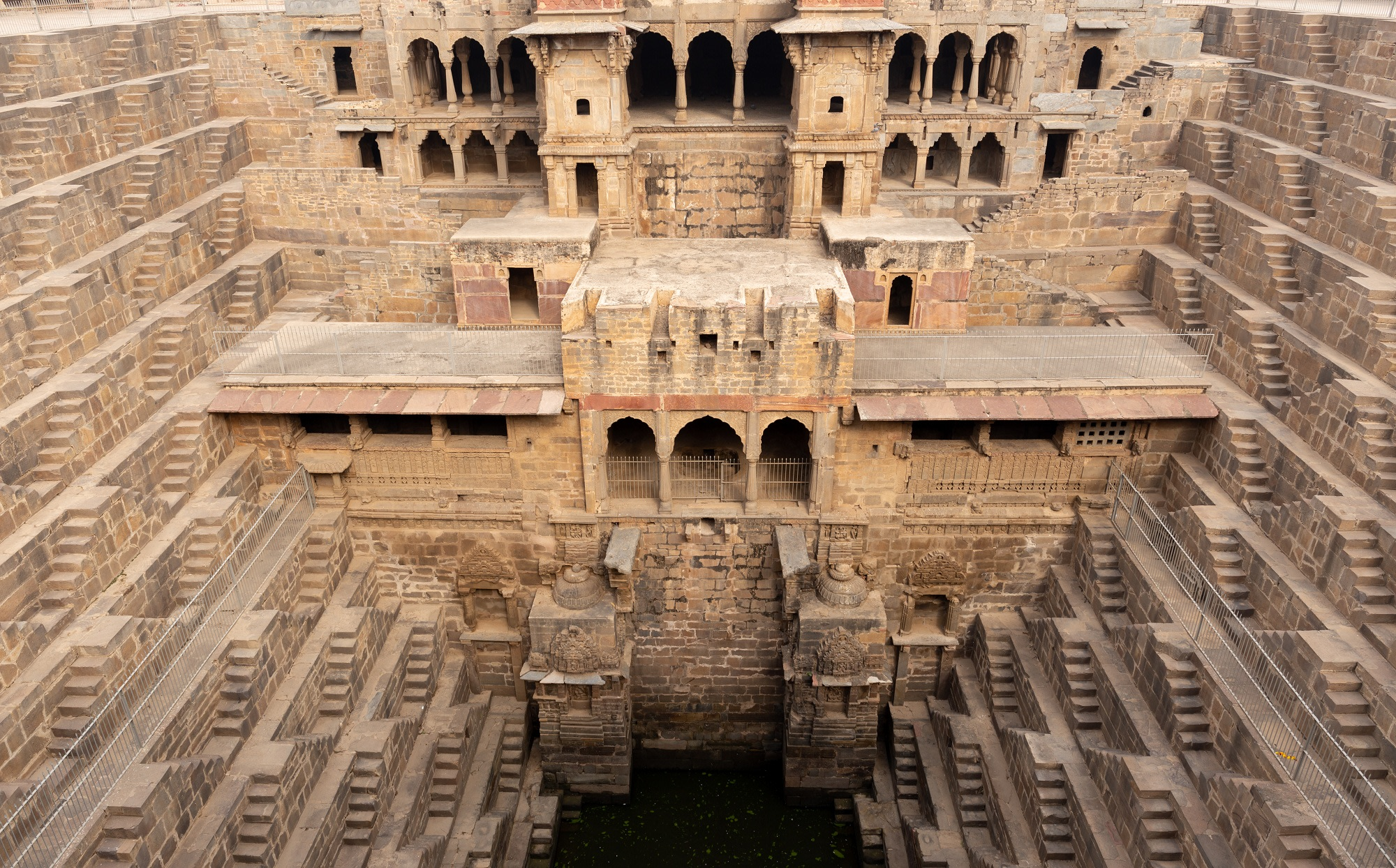 Front Part of Chand Baori