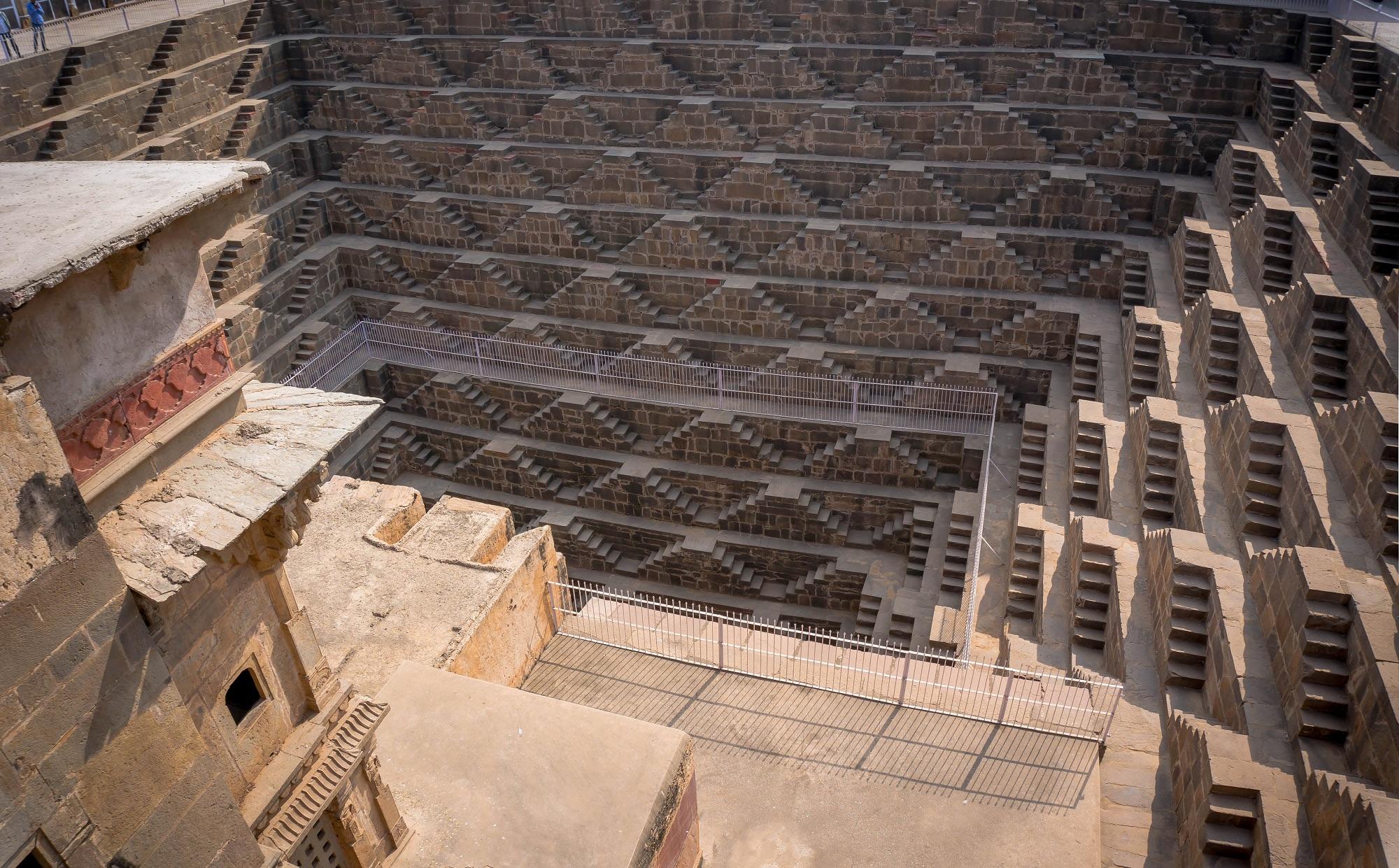 Steps in Chand Baori
