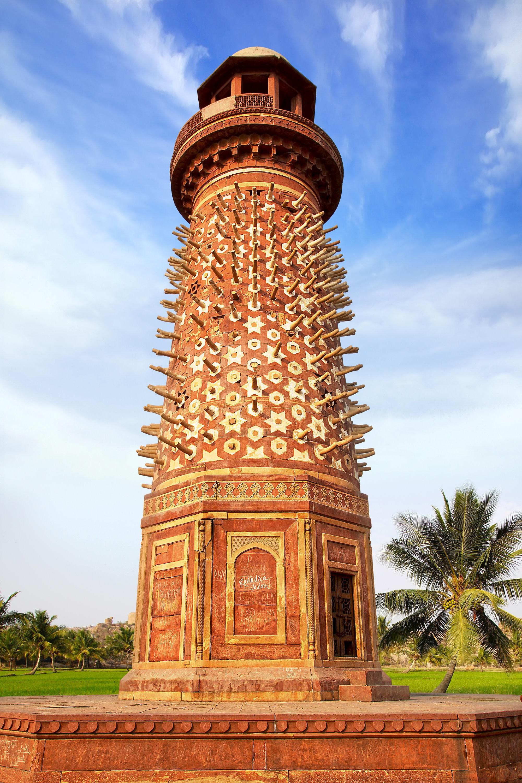 Elephant Tower in Fatehpur Sikri