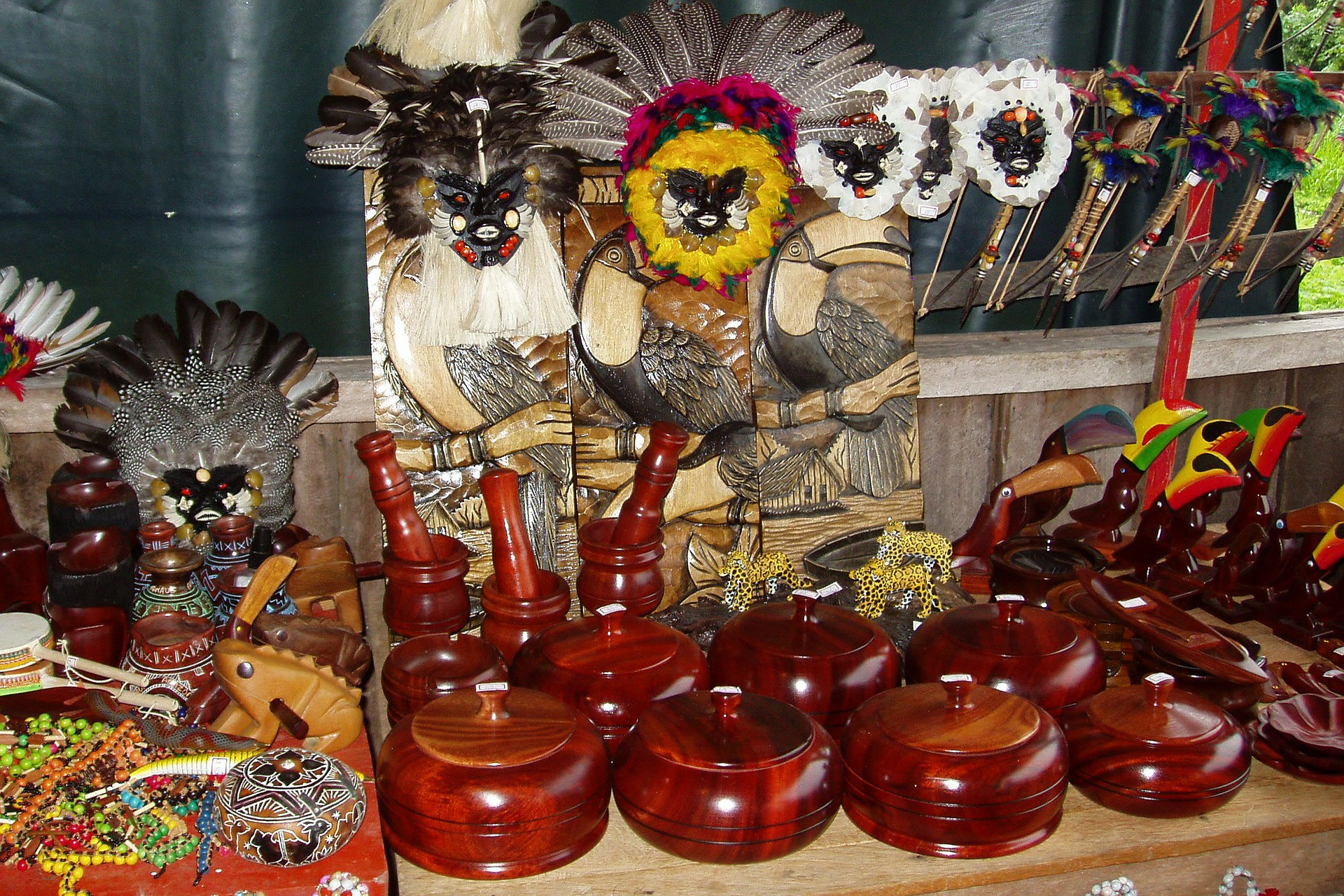Amazon people souvenirs