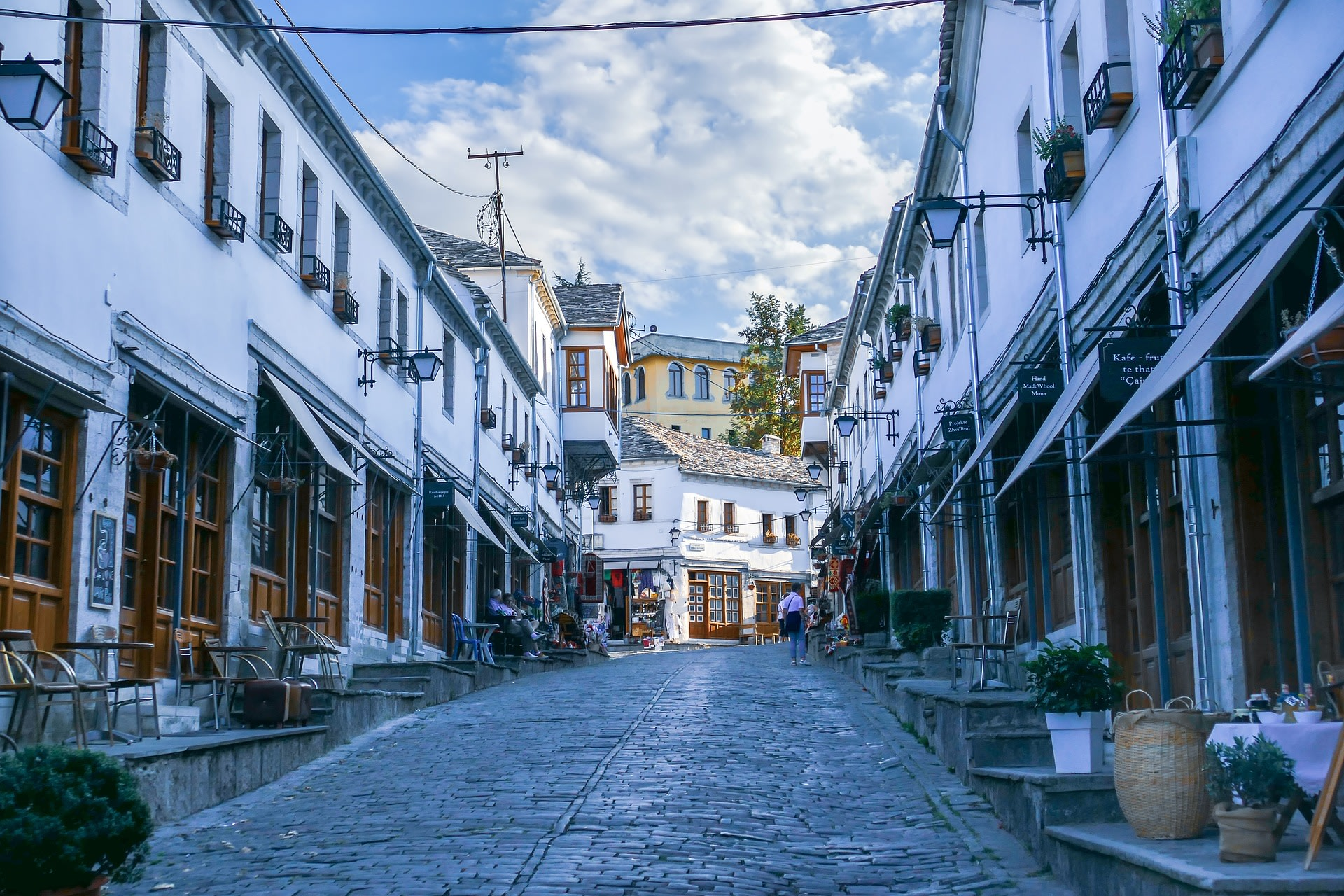 Explore the UNESCO World Heritage town, Gjirokastra
