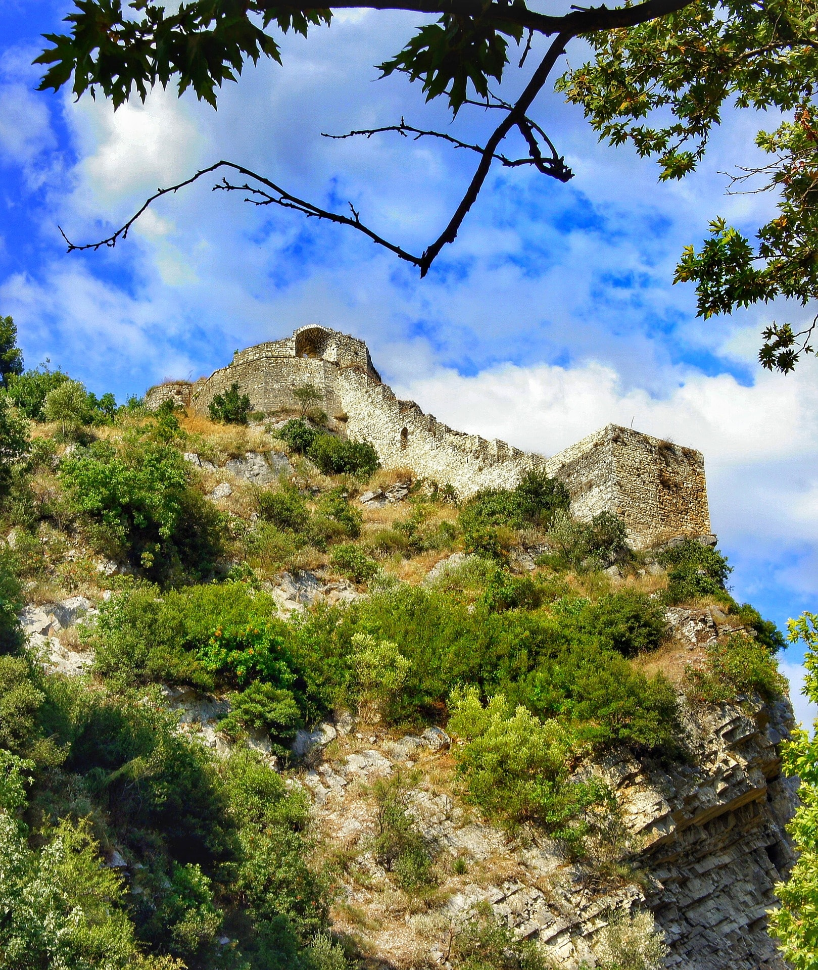 Visit the Castle of Rozafa in the Albanian Alps