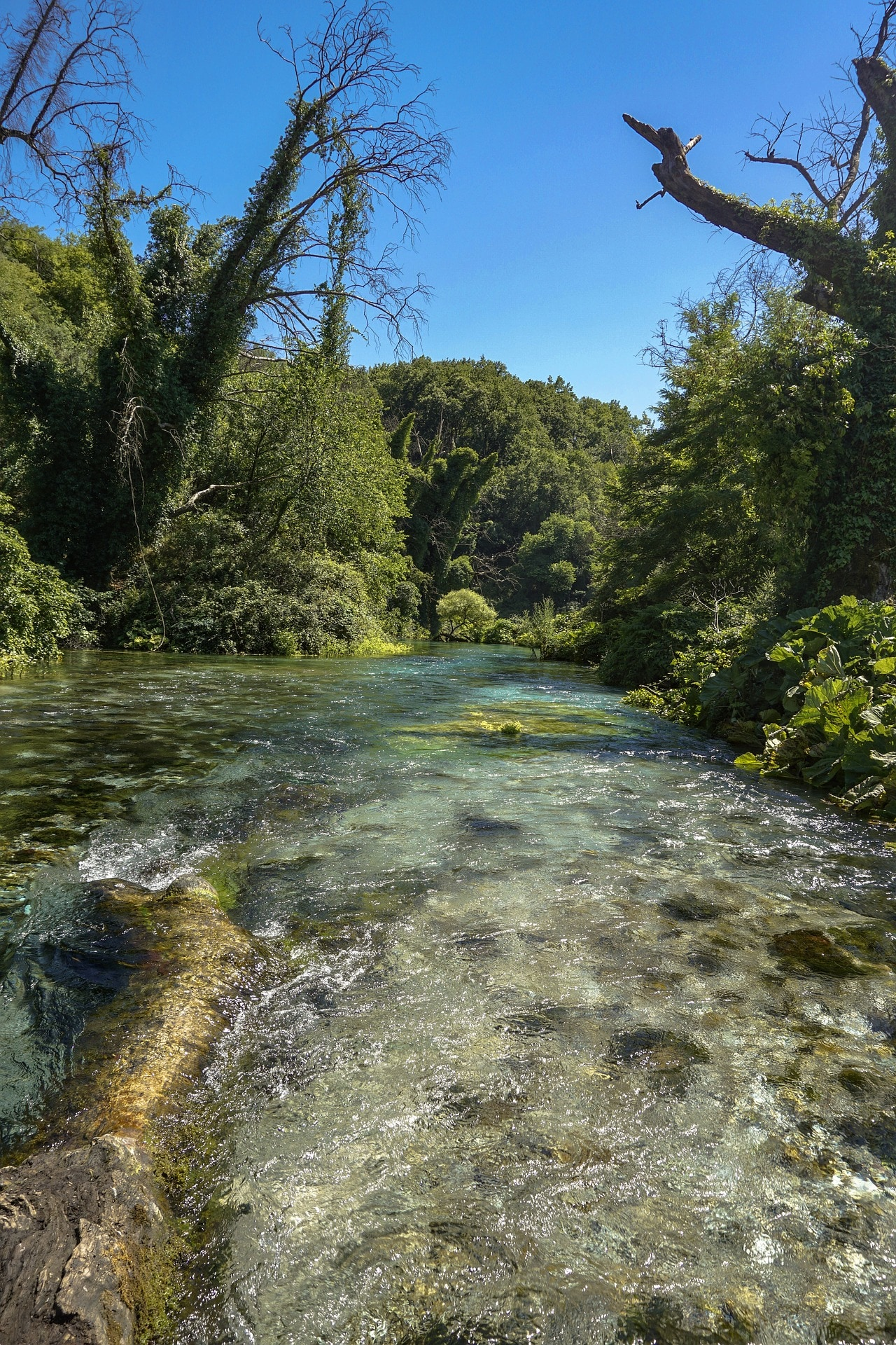 Visit the Blue Eye, Albania