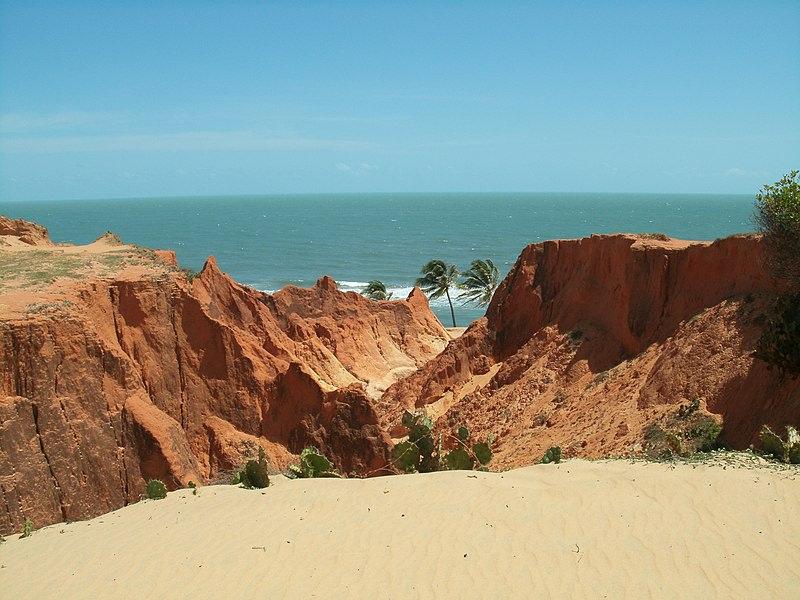 Morro Branco Cliffs, Brazil