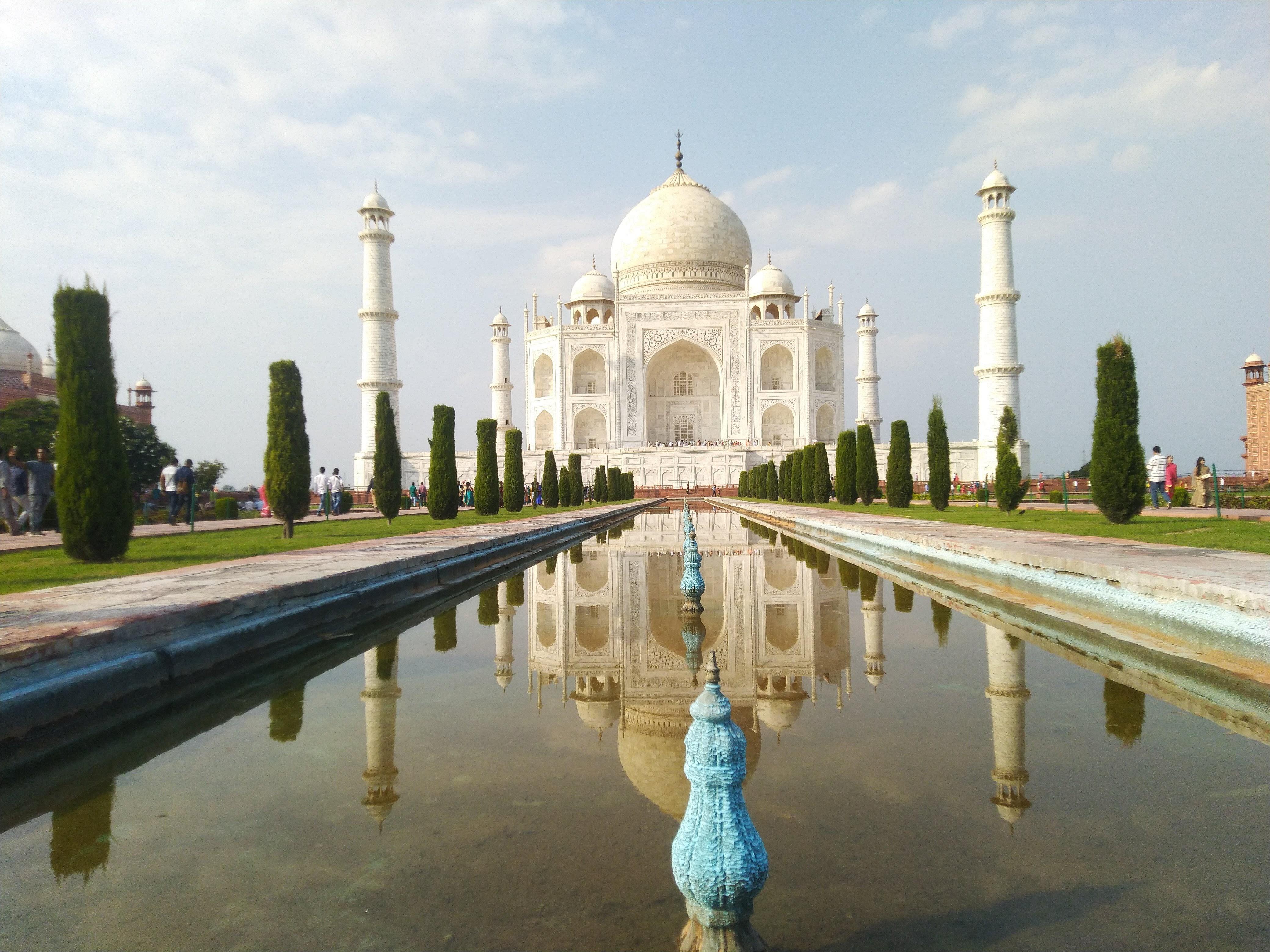 The Magnificent Taj Mahal