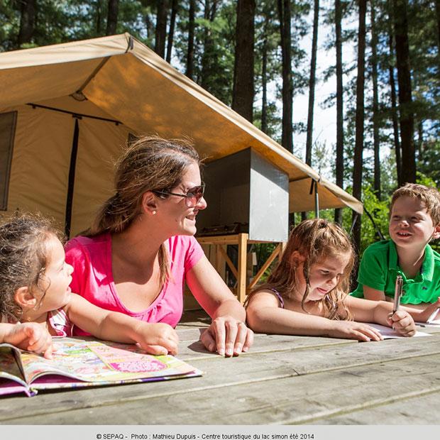 Camping Centre touristique du Lac-Simon