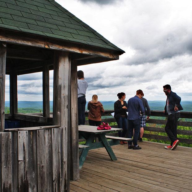 Parc des Montagnes Noires de Ripon au coeur de la MRC Papineau