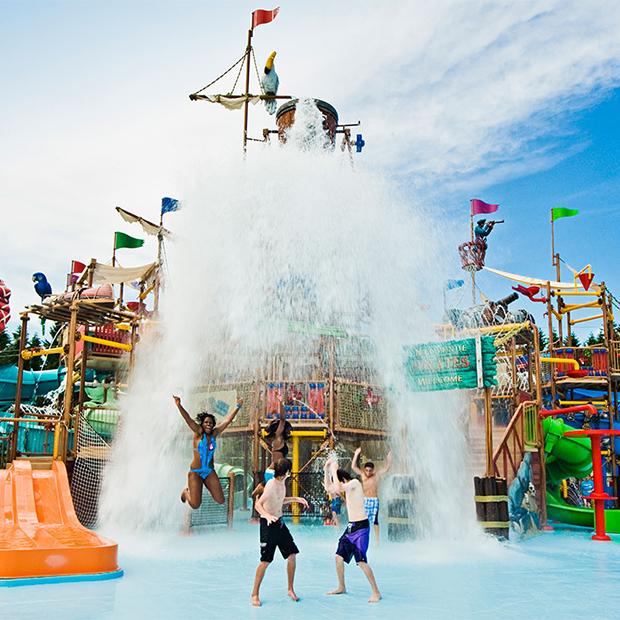 Parc aquatique thématique Calypso