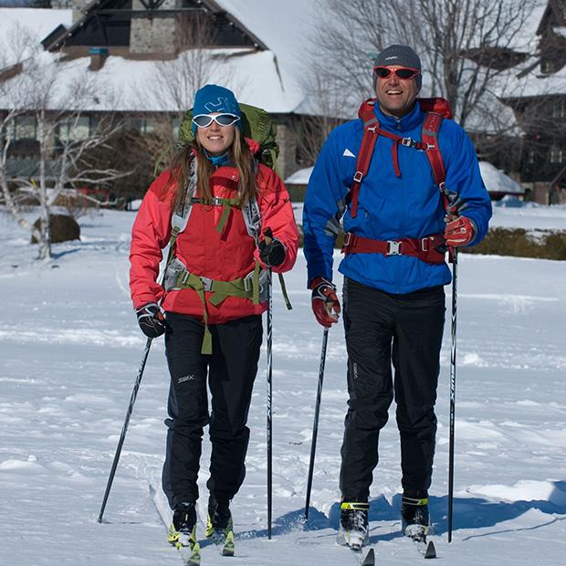 Ski de fond au Fairmont Le Château Montebello