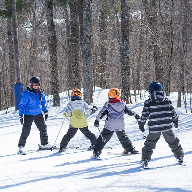 Ski Vorlage