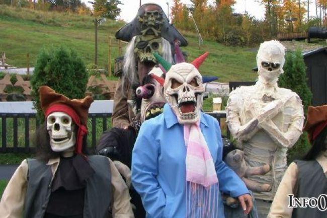 Vallée de l'horreur au Village fantôme Cantley
