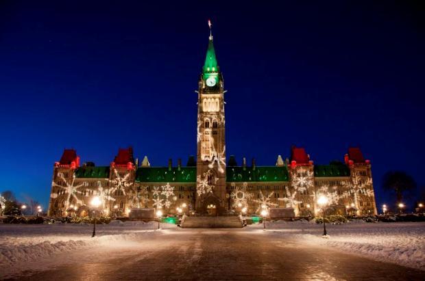 Lumieres de Noel du Canada