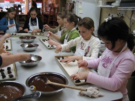 Atelier pour enfants - Miss chocolat