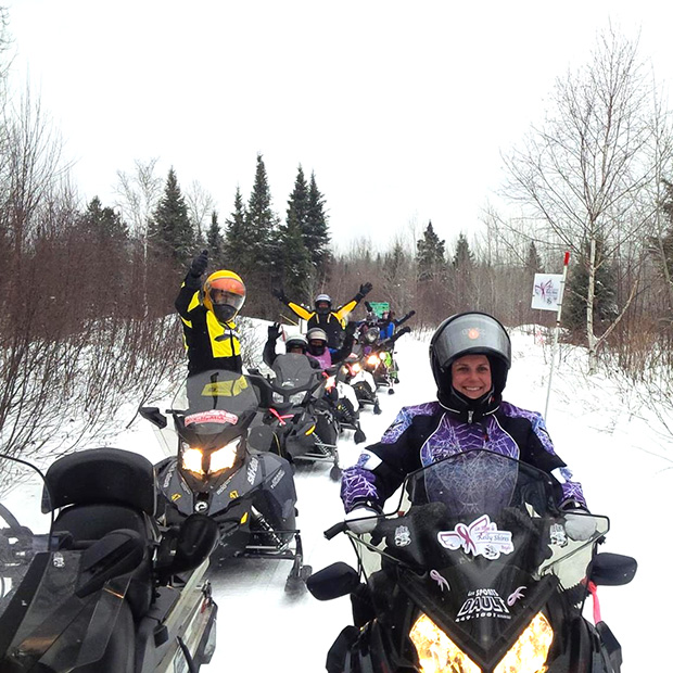 11th annual Quebec Kelly Shires Breast Cancer Snow Run