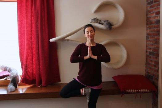 Yoga-Chat-Namaste