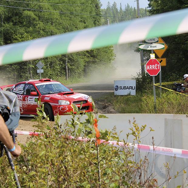 Défi Rallye - course automobile