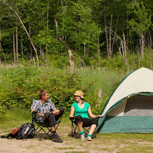 Camping Parc national de Plaisance