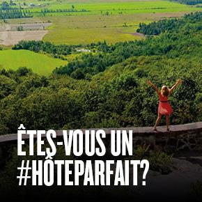 Êtes-vous un #HôteParfait?