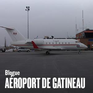 L'aéroport exécutif Gatineau-Ottawa