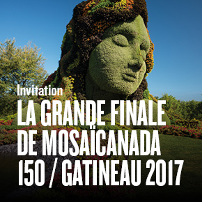INVITATION À LA GRANDE FINALE DE MOSAÏCANADA150 / GATINEAU 2017