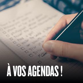 À vos agendas !