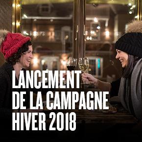 Lancement de la campagne hiver 2018