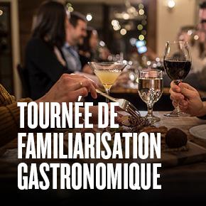 Tournée de familiarisation gastronomique