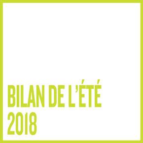 BILAN DE L'ÉTÉ