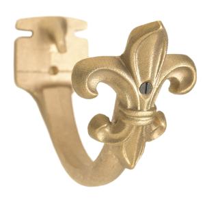 Accessory - Fleur-de-lis Installed on Plain Fascia Bracket