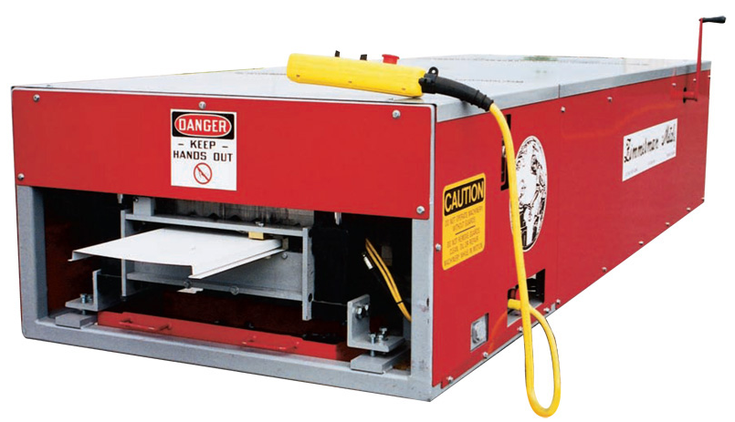 JB Gutterman WS-1000 Wall & Soffit Panel Machine