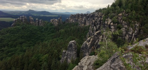 Elbe Sandstone Mountains Hike Malerweg