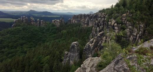 Elbe Sandstone Mountains Hike Malerweg