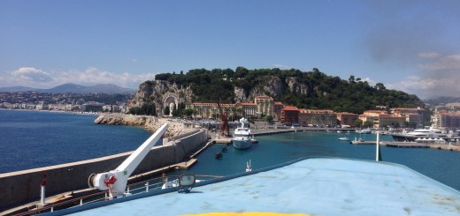 Corsica GR20 - Prolog - Port of Nice