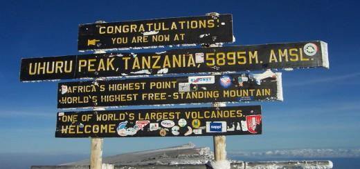 Kilimandscharo Vorbereitung - Uhuru Peak