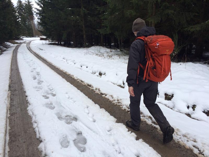 Harz Bodetal Hike - Off the road