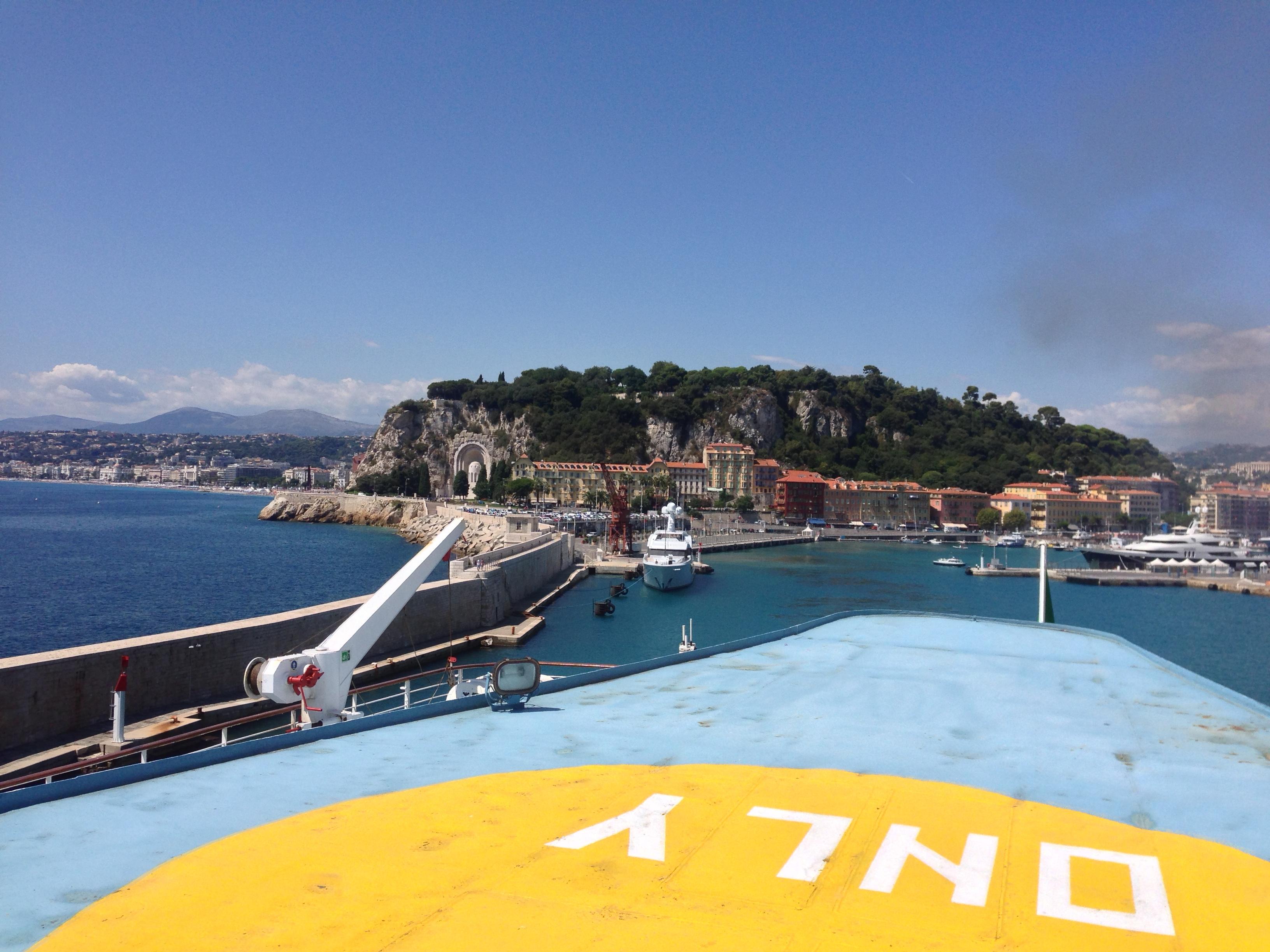 Corsica GR20 - Prologue - Port of Nice