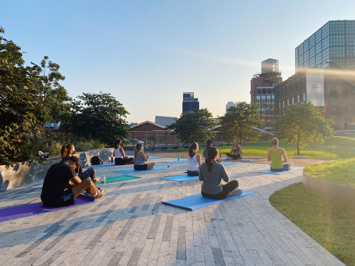Pilates in the Park with ERP