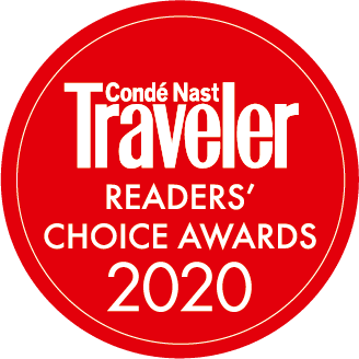 Conde Nast Traveler Readers Choice Logo