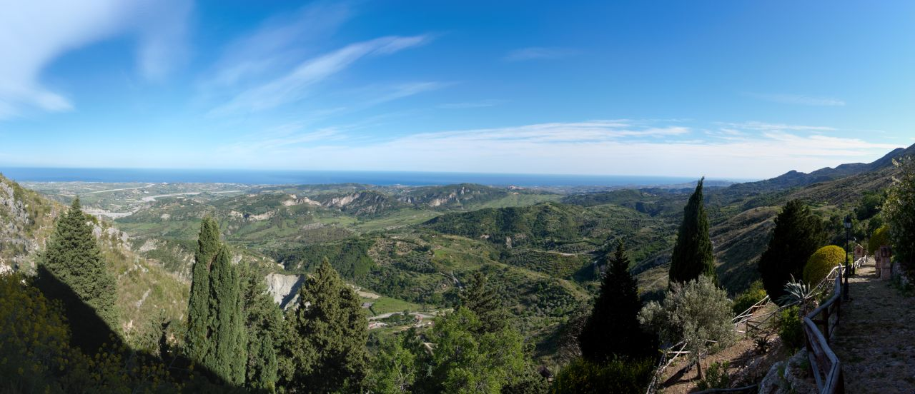 Monte Stella (Pazzano); Panorama